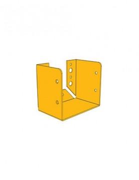 תושבת קיר 132/135 צהובה