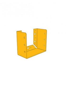 תושבת קיר 185/185 צהובה