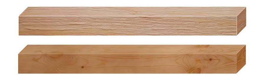 לוחות עץ למדפים